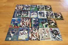 GARY BROWN LOT OF 21 FOOTBALL CARDS NEW YORK GIANTS RUN BACK CHARGERS PENN STATE