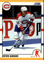 1990-91 Score Rookie Traded Hockey Cards Pick From List