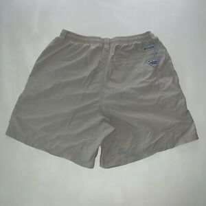 Men's Columbia PFG Omni Shade Activewear Athliesure Logo Shorts Size Medium NEW