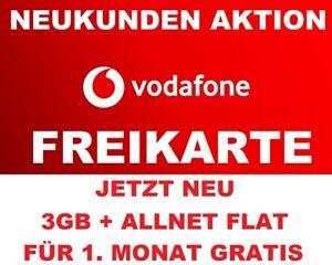 FREE SIM-KARTE !!! Vodafone Callya D2 Prepaid Sim Karte 0€ Restguthaben