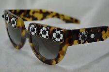 Prada Sunglasses glasses spr 26P 50 21 750 0A7 140 2N BROWN Marbled