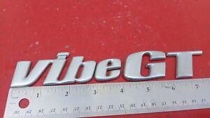 Original 2003-2004-2005-2006-2007-2008 Pontiac GT Vibe Emblem-Badge