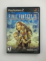 Final Fantasy XII - Playstation 2 PS2 Game - Complete & Tested