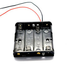 1Pc AA 4x 6V Battery Open Case Box Holder- no Switch with Thick 150mm Wires