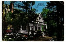 Cottage Gardens, Natchez, Mississippi, Vintage Postcard, Jan