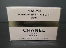 Chanel No 5 Perfume Bath Soap Sealed NOS