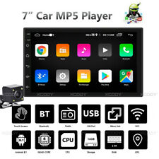 "7"" Android 8.1 2 DIN Car MP5 Player Stereo Radio GPS Navi USB WIFI 1+16G Camera"