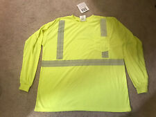 New Team waste management Tshirt Neon W/reflective