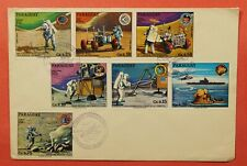 DR WHO 1973 PARAGUAY FDC APOLLO SPACE PROGRAM 181203