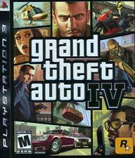 Grand Theft Auto 4 Ps3 Video Game