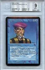 MTG Alpha Prodigal Sorcerer BGS 9.0 (9) Mint card with 10 Centering 4983