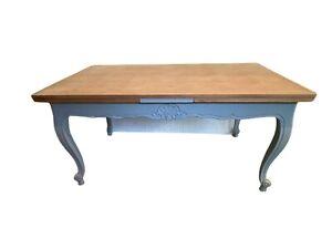 Table de style Régence relooké Table a allonges XX siècle