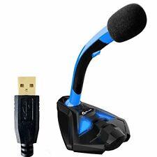 Klim Voice Microphone À pied USB pour ordinateur - Micro de bureau