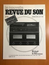 MCINTOSH LA NOUVELLE REVUE DU SON N'99 JUIN/JUILLET 86 WITH ENGLISH REPRINT D108