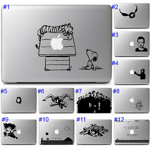 Macbook Pro Air Laptop Notebook Vinyl Sticker Decal Transfer Mod Design Transfer