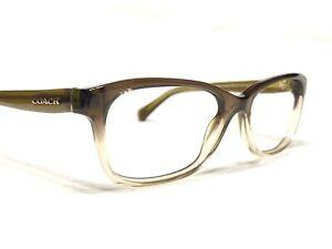 Coach HC6089 5400 Women's Olive Brown Gradient Rx Designer Eyeglass Frames 51/16