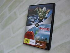 GREMLINS + GREMLINS 2 THE NEW BATCH - REGION 4 PAL - 2 DISC DVD SET