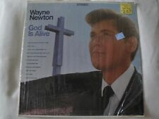 WAYNE NEWTON GOD IS ALIVE VINYL LP HIS AMAZING GRACE, WERE YOU THERE? STEREO EX