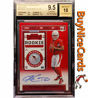 2019 Kyler Murray Contenders Red Zone Red Foil SP Variation RC Auto BGS 9.5 / 10
