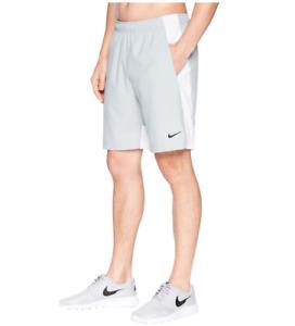 New Nike Men's Shorts L/XL/pockets/ light grey/Flex Woven Training Shorts/£34.95