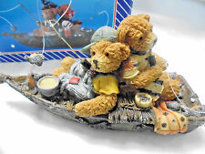 "TRIPPIES INC "" FISHING BUDDY BEARS"" STATUE # BA5355"