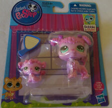 LPS Littlest Pet Shop MOMMY POODLE 3599 & BABY POODLE 3600 Hasbro 2014 FREE SHIP