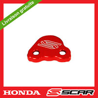 CAPOT MAITRE CYLINDRE FREIN ARRIERE ROUGE HONDA CR125 CRF150R CRF250R CRF450R