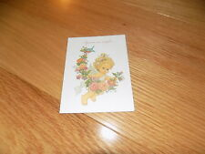VTG Valentines Day Greeting Card Little Angel Current Morehead NEW