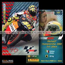 #pngp03.185 ★ Pilote VALENTINO ROSSI (REPSOL HONDA TEAM) ★ Panini Moto GP 2003