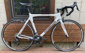 2015 Motobecane Immortal Ice Full Carbon 56cm Road Bike Ultegra Mavic Ritchey
