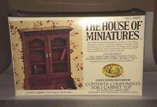 1/12 CLOSED CABINET TOP KIT #40001 X-ACTO THE HOUSE OF MINIATURES NEW SEALED