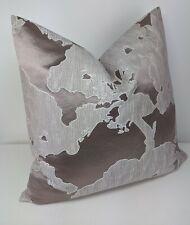 "John Lewis Fabric Cushion Pillow Cover ""Komako"" 18x18"" Pale Pink"