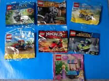 2. LEGO SET OF 7 - Digger / Joker Car / Disney / Star Wars / Chimaera / Ninja go