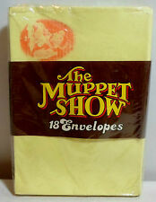 The Muppet Show Vtg 1977 18 Mail Envelopes 6'' Fozzie Bear Stationery Sealed Set