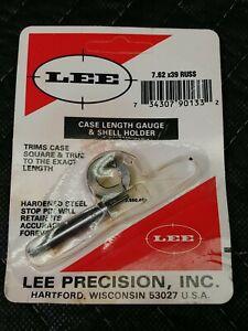 Lee Case Length Gauge & Shell Holder- 7.62x39 Russ