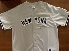 Ken Clay Autographed New York Yankee Jersey - Inscribed