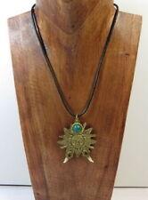 Modeschmuck-Halsketten & -Anhänger aus Messing Hippie