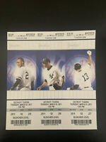3 Yankees vs Tigers 2011 Opening Day Ticket Stub Arod Jeter Rivera 3/31/11