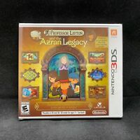 Professor Layton and the Azran Legacy (Nintendo 3DS) BRAND NEW