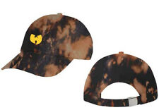 Wu Tang Clan-Classic Logo- OSFA Bleach Dye Dad Baseball Cap