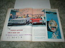 1960 Chevrolet Impala Convertible ad & Corvair ads ( Lot of 2 )