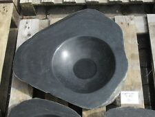 Becken aus poliertem Granit - Granittrog Vogeltränke Bachlauf Waschbecken - B133