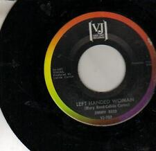 45 JUKEBOX SINGLE JIMMY REED LEFT HANDED WOMAN VEE JAY