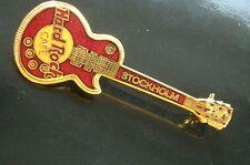 HRC Hard Rock Cafe Stockholm Red vertical Les Paul Guitar LE750