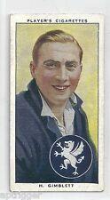 1938 John Player & Sons (9) H. GIMBLETT Somerset & England