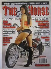 The Horse Back Street Choppers Magazine June 2011 1956 Triumph Bakers R&D Bike