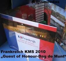Frankreich Off. Kursmünzensatz 1 Cent bis 2 Euro KMS 2010 Dag van de Munt Guest