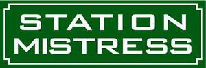 METAL RAILWAY SIGN - STATION MISTRESS  (GREEN) LADIES