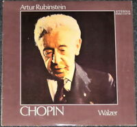 RUBINSTEIN - CHOPIN - Walzer - LP Schallplatte selten - Sammlerstück selten rar