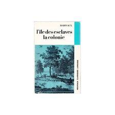 L'ILE DES ESCLAVES LA COLONIE / MARIVAUX comédies 1969